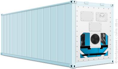 Виды контейнеров - Рефрижераторный контейнер